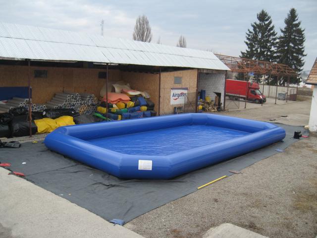 opblaasbaar zwembad voor aquaballen 14x8m aq2205 hadektoys