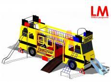 Speelconstructie schoolbus