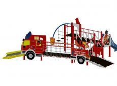 LM speelconstructie brandweerwagen